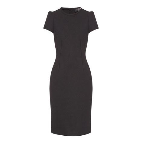 Short-Sleeved Pencil Dress, ${color}