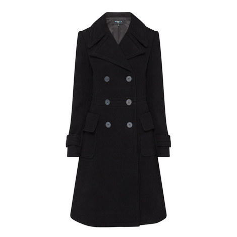 Double-Breasted Wool Coat, ${color}