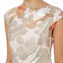 Jacquard Floral Dress, ${color}