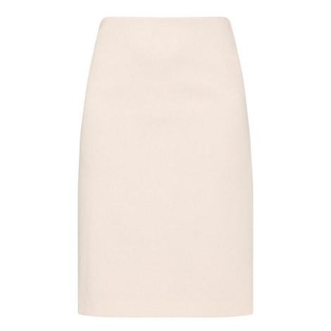 Crêpe Pencil Skirt, ${color}
