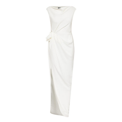 Gathered Detail Gown, ${color}