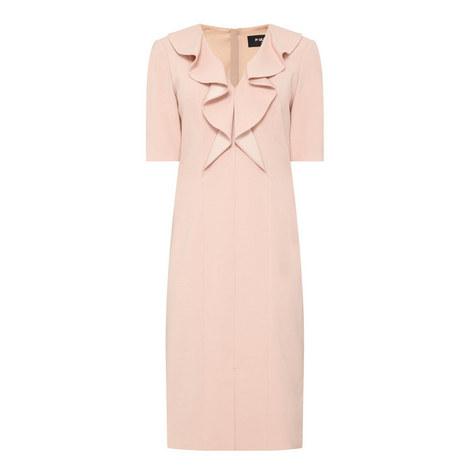 Ruffle Detail Dress, ${color}