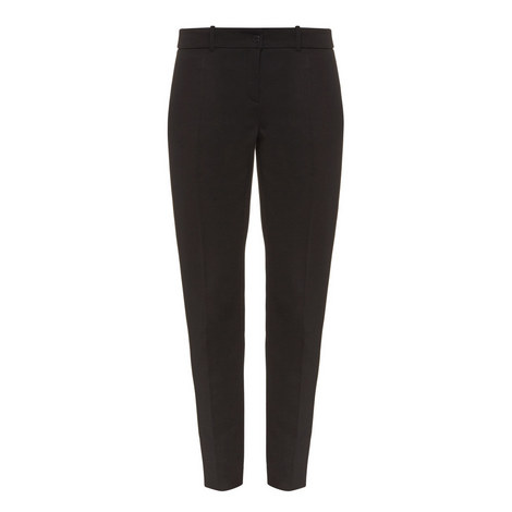 Slim Straight Fit Trousers, ${color}