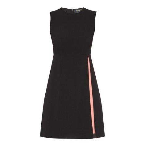Sleeveless A-Line Dress, ${color}