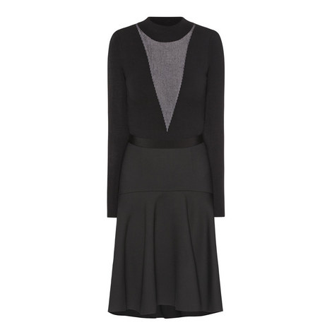 Knit Jersey Dress, ${color}
