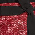 Dual Material Dress, ${color}