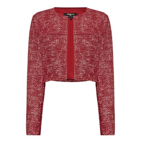 Short Tweed Jacket, ${color}