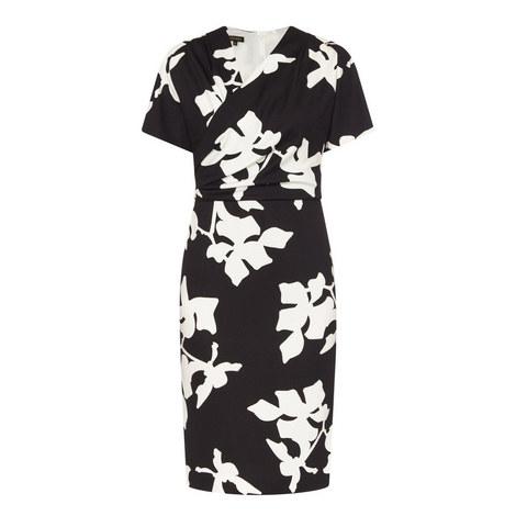 Delwina Patterned Dress, ${color}