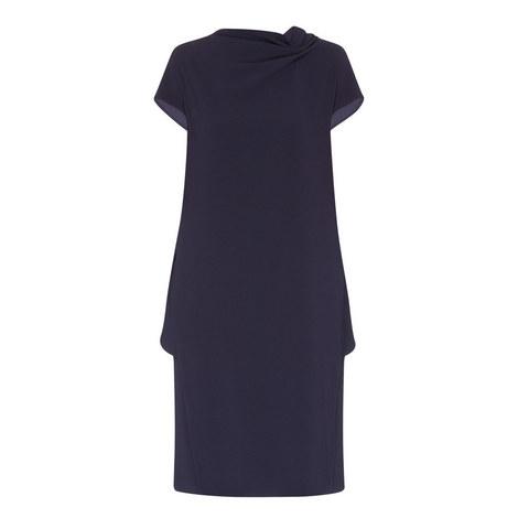 Danepi Drape Front Dress, ${color}