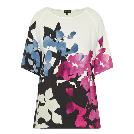 Nakers Print Crepe Top, ${color}