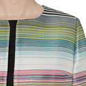 Banora Stripe Lurex Jacket, ${color}