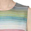 Deide Stripe Lurex Dress, ${color}