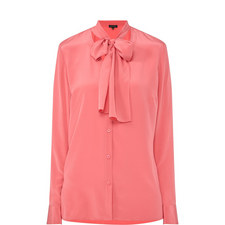 Self-Tie Detail Shirt