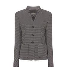 Micro-Square Pattern Jacket