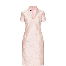 Jacquard Lurex Dress