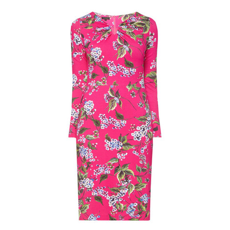 Dorikes Floral Pencil Dress, ${color}