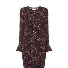 Shooting Star Print Dress