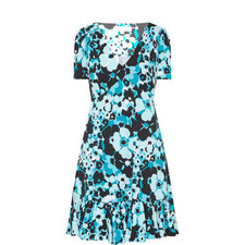 Spring Floral Print Dress
