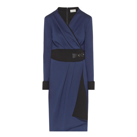 Eve Mock Wrap Dress, ${color}