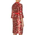 Carmel Jacquard Dress, ${color}
