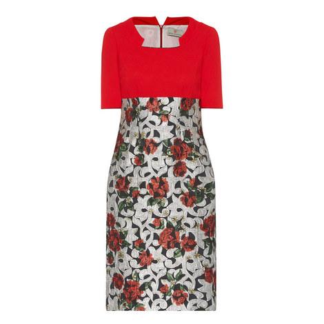 Scarlet Short Sleeve Dress, ${color}