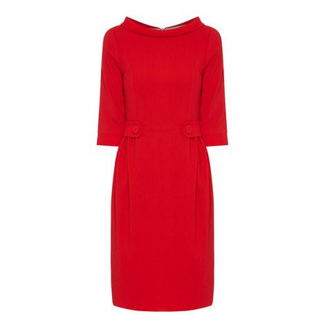 Lorelei Crepe Dress, ${color}
