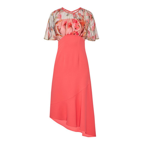 Maxime Draped Dress, ${color}