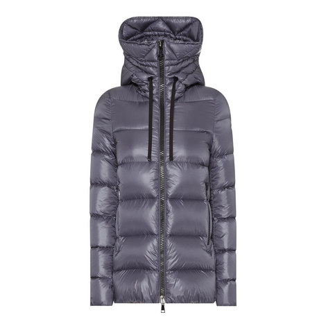 Serinde Quilted Down Jacket, ${color}