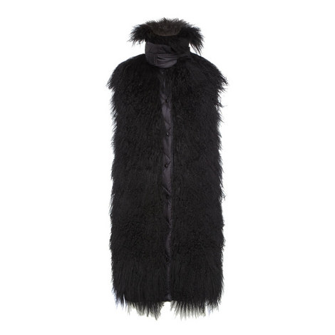 Sophora Faux Fur Gilet, ${color}