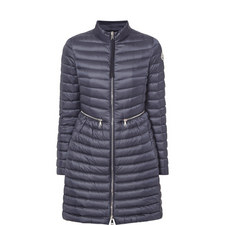 Agatelon Quilted Long Jacket