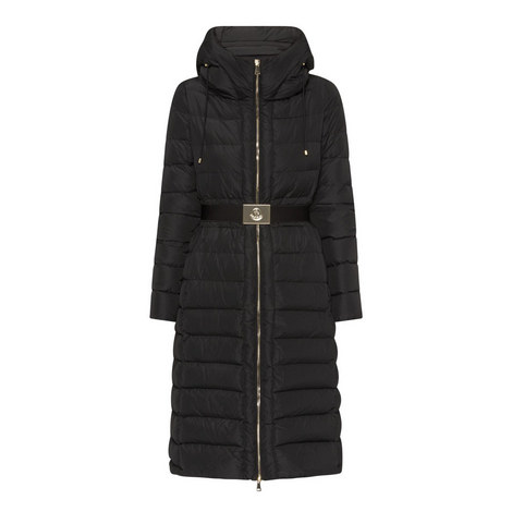 Imin Longline Puffer Coat, ${color}