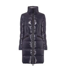 Jasminum Long Quilted Coat