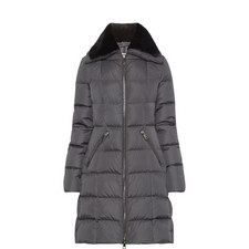 Davida Shearling Collar Coat