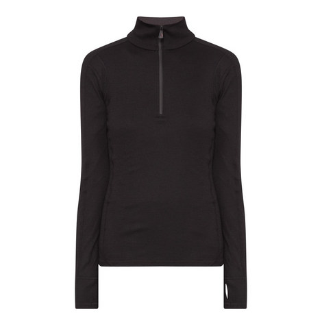 Half-Zip Thermal Sweatshirt, ${color}