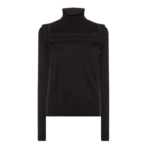 Victorian Polo Neck Sweater, ${color}