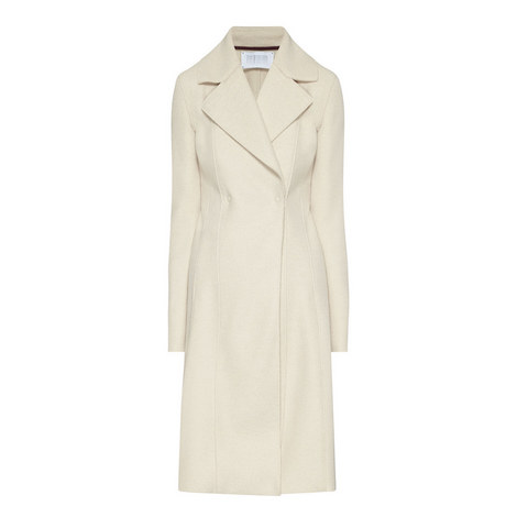Double Breasted A-Line Wool Coat, ${color}
