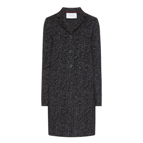 Leopard Print Wool Coat, ${color}