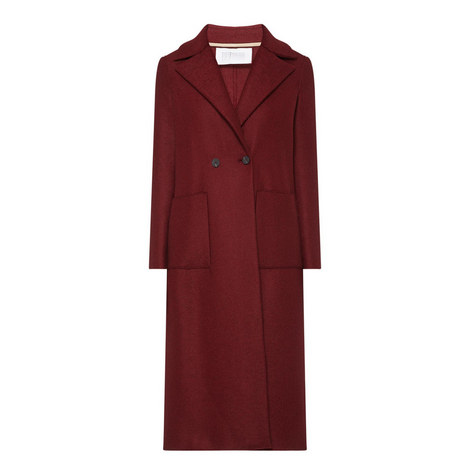 Long Double-Breasted Coat, ${color}