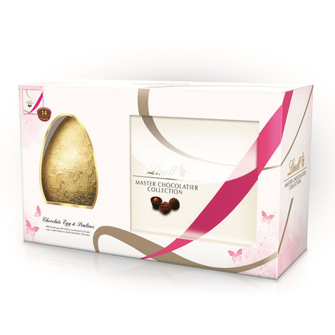 Master Chocolatier Chocolate Easter Egg and Praline, ${color}