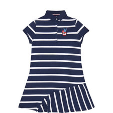 Quirky Stripe Polo Dress