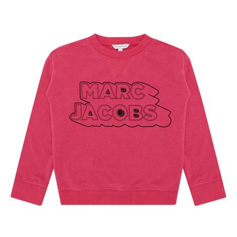 Slogan Sweatshirt Kids, ${color}