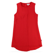 Pleated Apron Dress Teens