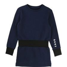 Ribbed Sweatshirt Dress Kids