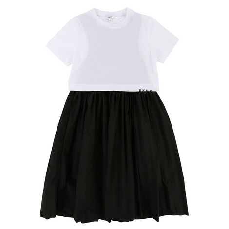 T-Shirt Pinafore Dress Teens, ${color}