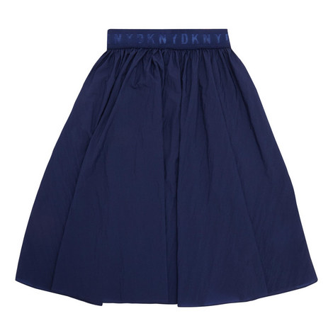 Relaxed Pleat Skirt, ${color}