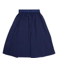 Relaxed Pleat Skirt