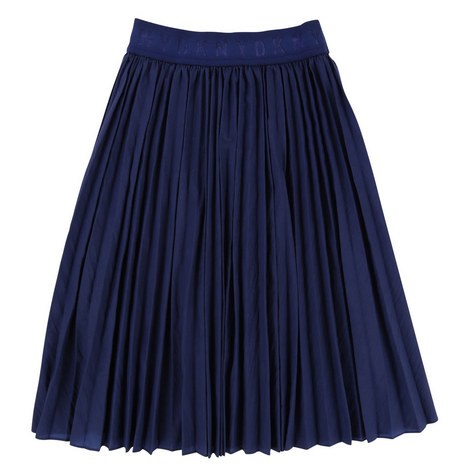 Flared Pleated Skirt Teens, ${color}