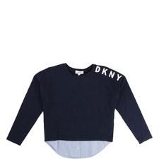 Oxford Stripe T-Shirt Kids