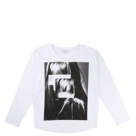 Selfie Slogan Print T-Shirt Teens, ${color}