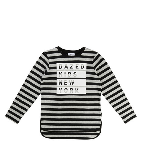 Dazed Stripe T-Shirt Teens, ${color}